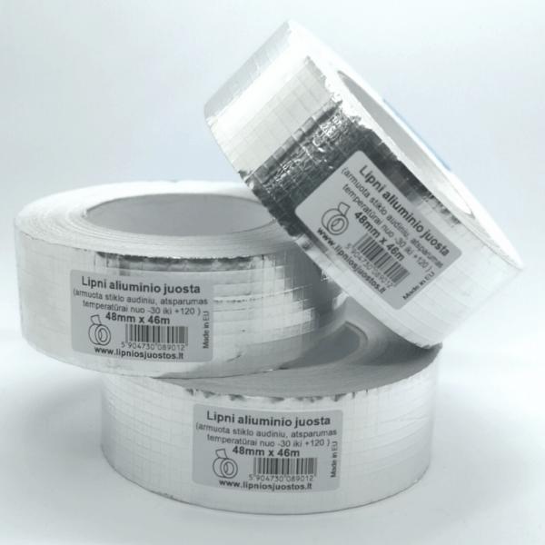 Lipni aliuminio juosta kaina