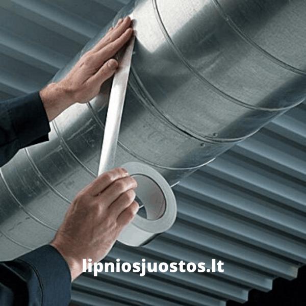 lipni aliuminio juosta folia ortakiams
