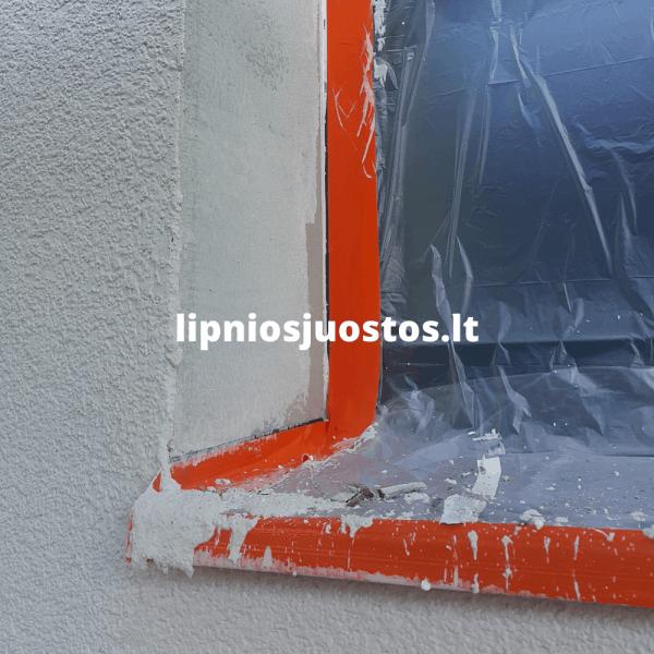 Lipni juosta langams skardoms fasadui apsaugoti