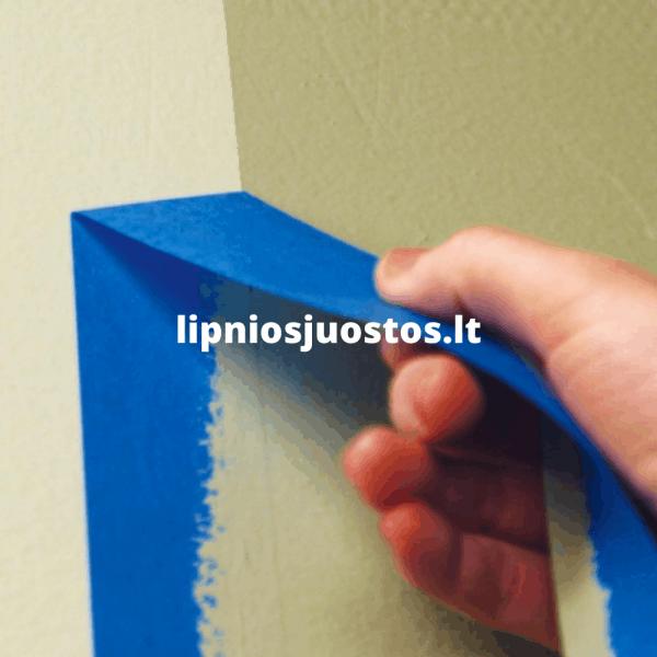 mėlyna lipni juosta dažymui