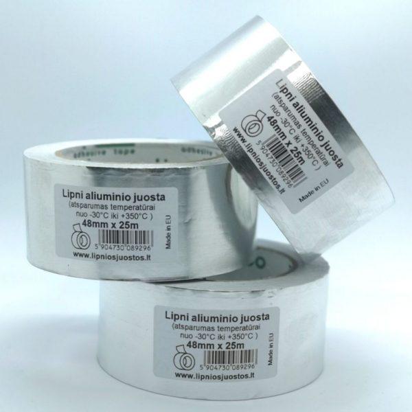 karščiui atspari lipni aliuminio juosta kaminams